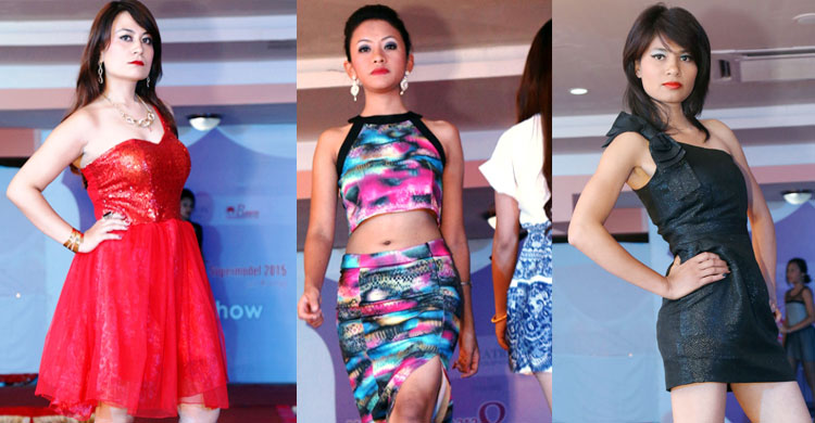 fashion show in pokhara
