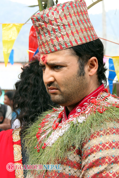 Aryan Sigdel Nepali Actor