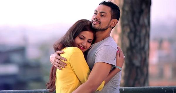 Barsha Siwakoti Featured on Rajesh Payal Rai Music Video