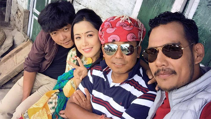 Dayahang Rai Deeya Pun Milan Chams Anoop Bikram Shahi Bir Bikram