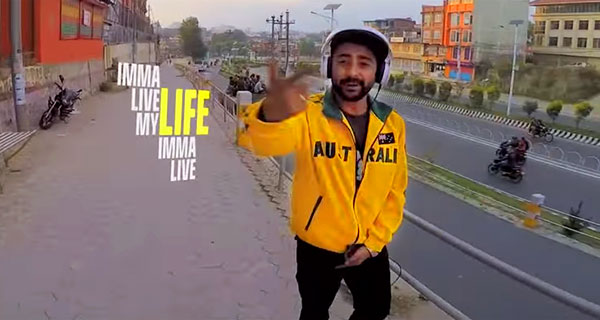 One Take Music Video Imma Live My Life by Girish NepHop