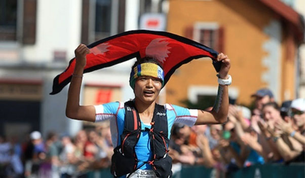 Mira Rai Mountain Trail Runner of Nepal