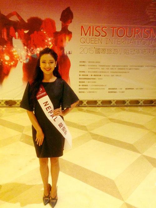 Nirisha Basnet Miss Tourism Queen International 2015