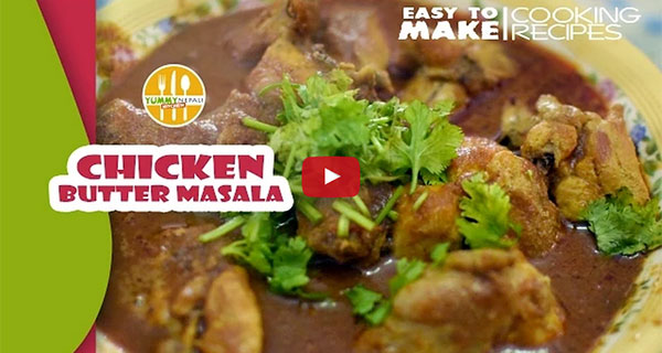 chicken butter masala in nepali style