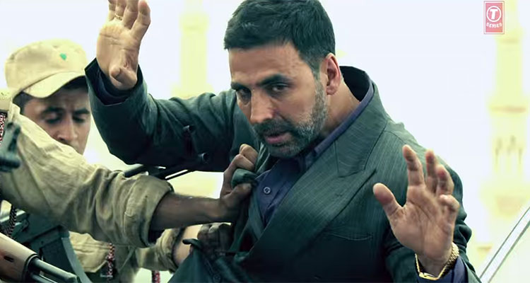 Akshay Kumar in new look AIRLIFT Teaser
