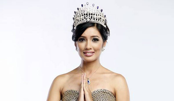 Dibyata Vaidhya representing at Miss Earth 2015