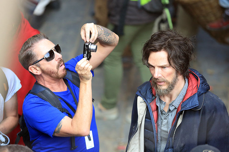 Photos from the sets of Doctor Strange shooting in Nepal
