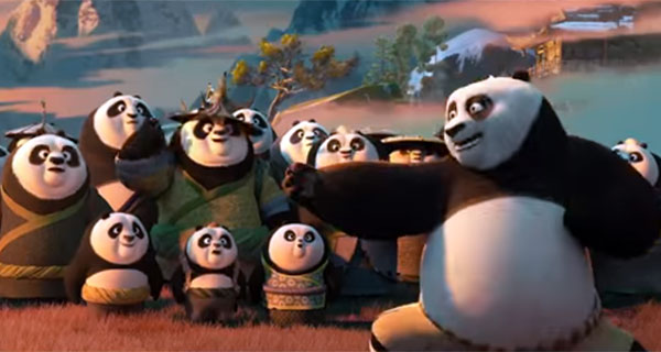 official trailer of Kung Fu Panda 3