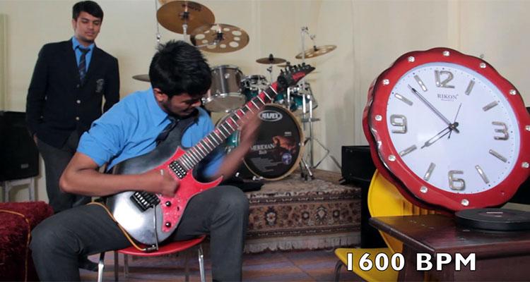 Nirvana Bista World's Fastest Guitar Player