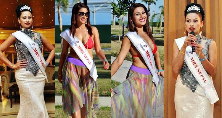 Rajani Thapa wins 4th runner-ups at Mrs Top of the World