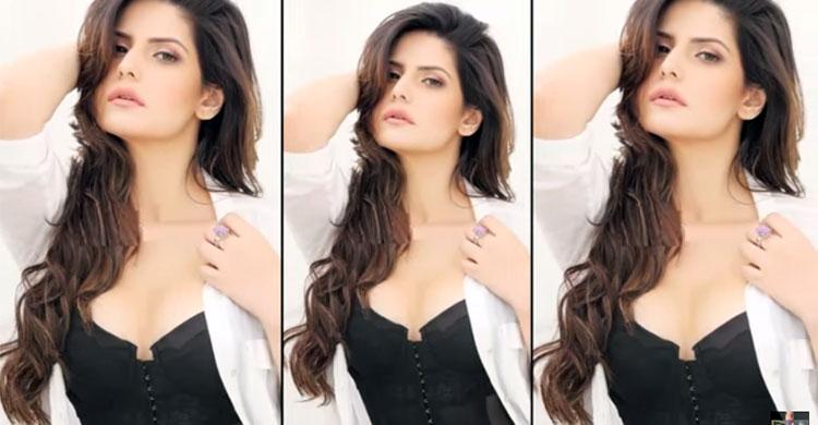 Zarine Khan Hot Photo Shoot for FHM Magazine