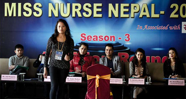 Miss Nurese Nepal 2072 Audition