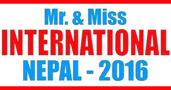 mr miss international nepal