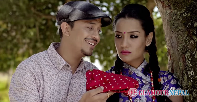 Bijay Lama's new music video featuring Priyanka Karki and Vinay Shrestha