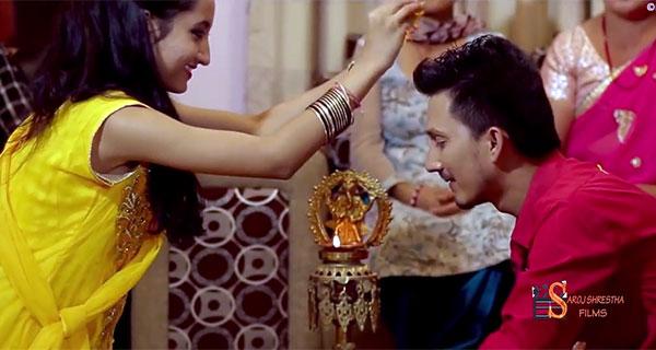 Dashain Tihar song by Rojin Pandey