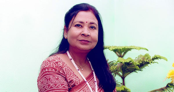 Senior Nepali actress Subhadra Adhikari