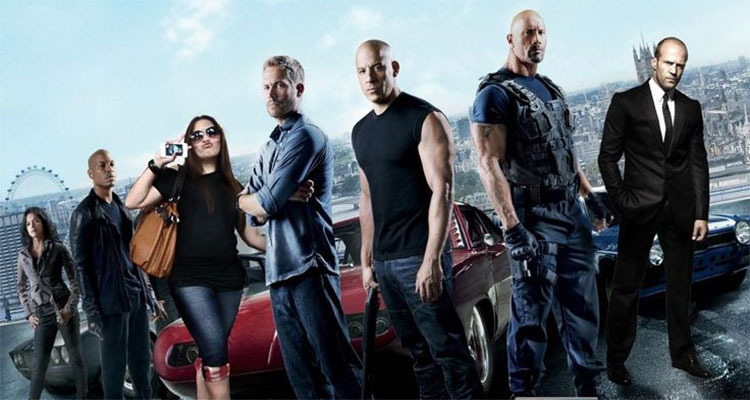 Most mistake packed movie of the year 2015; Fast & Furious 7