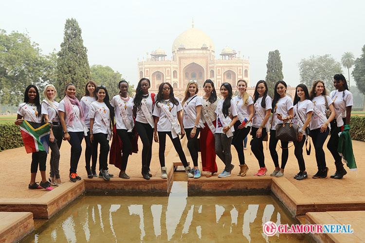 Miss Heritage International 2015 Heritage Sites Visit