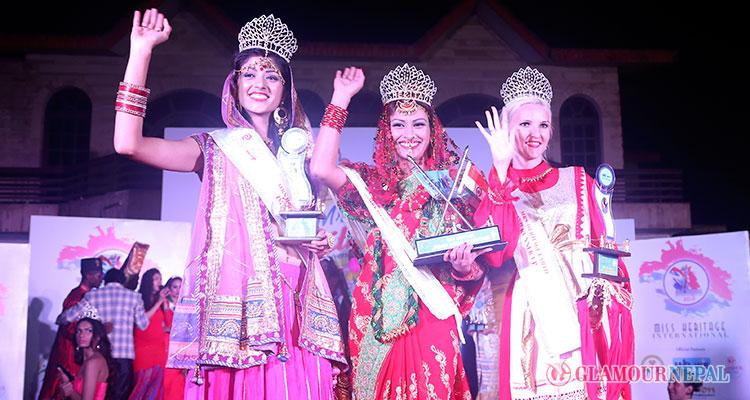 Rajani Thapa wins Mrs Heritage International 2015