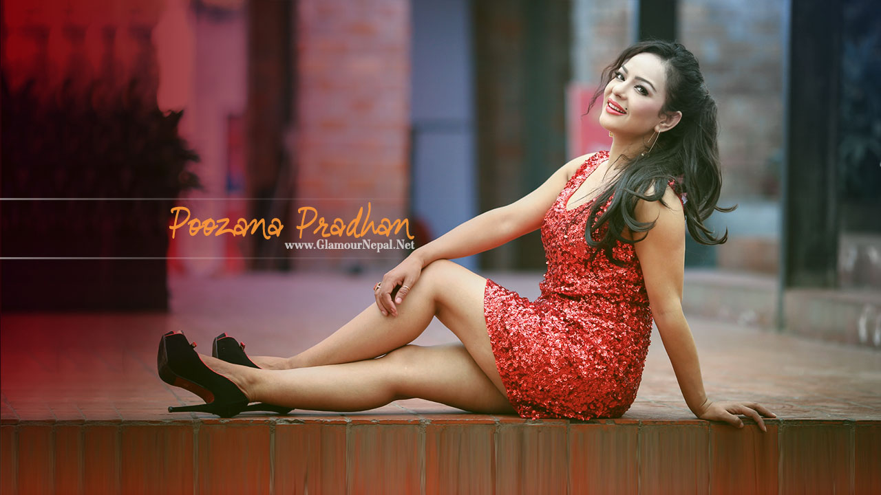 Nepali Actress Pujana Pradhan HD Wallpaper