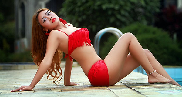 Nepali Model Shritika Gurung