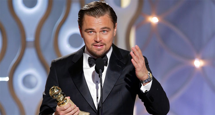 Leonardo DiCaprio Wins Best Actor