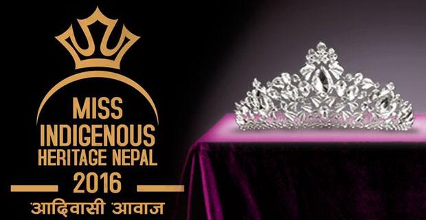 Miss Indigenous Heritage Nepal 2016