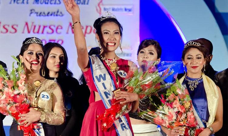 Miss Nurse Nepal 2072
