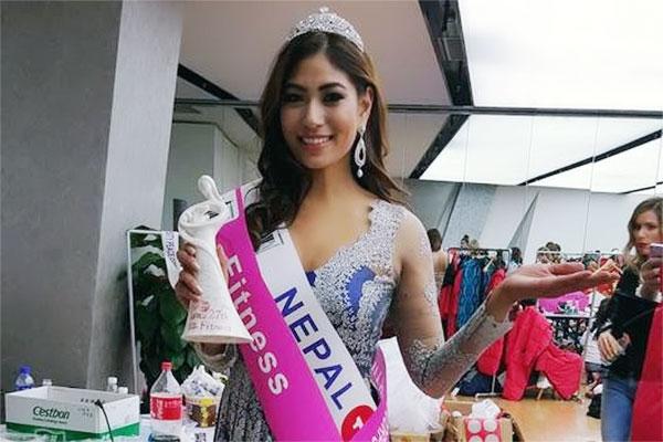 Nagma Shrestha wins third runner-ups at World Miss University 2016