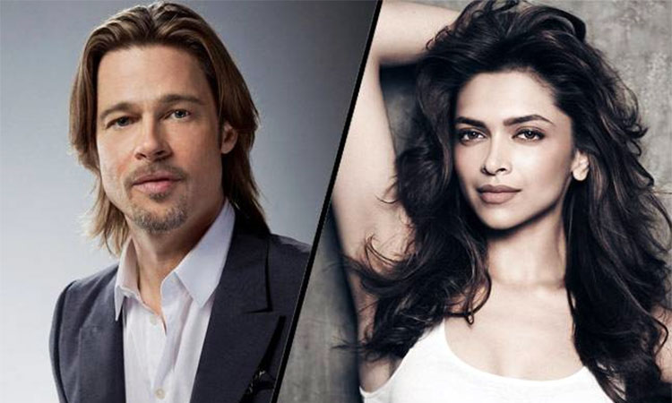 Deepika Padukone to work with Brad Pitt!