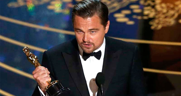"Oscar 2016: Leonardo DiCaprio finally wins the best actor for the movie ""The Revenant"""