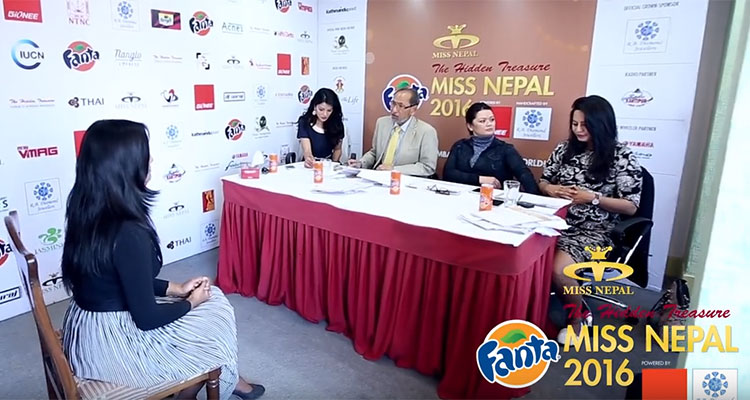 Miss Nepal 2016 Audition