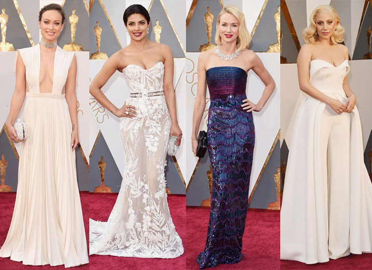 Runway to Red Carpet: How the 2016 Oscars Gowns Looked on the Catwalk