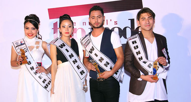 Heena And Sagar Declared As Winners Of The Nepal S Top Model Glamour Nepal