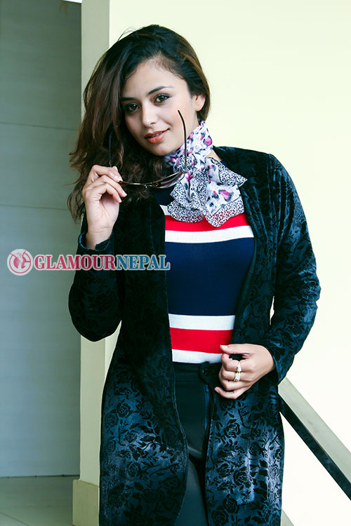 Actress Neeta Dhungana