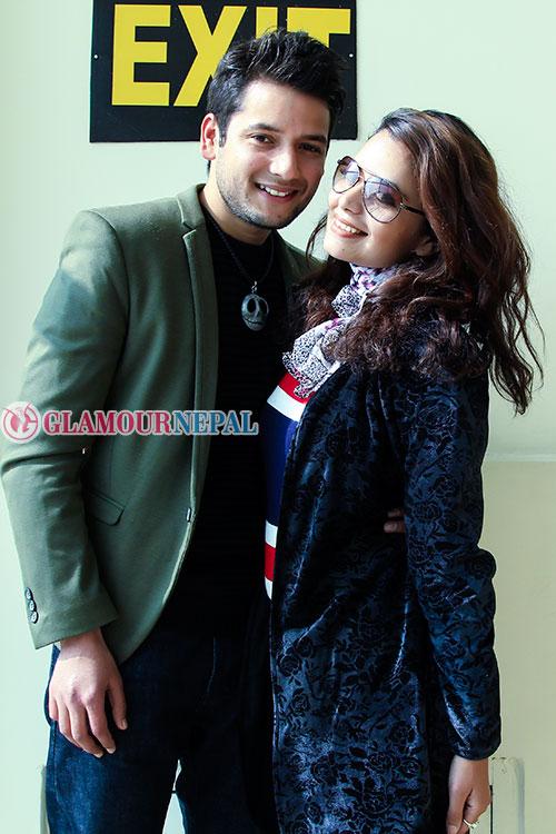 Neeta Dhungana and Aamesh Bhandari