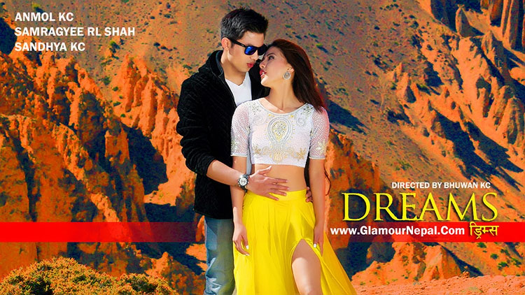 Anmol KC Samragyee RL Shah- Dreams Movie Photo
