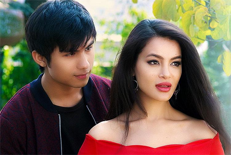 Anmol kc and Shristi Shrestha
