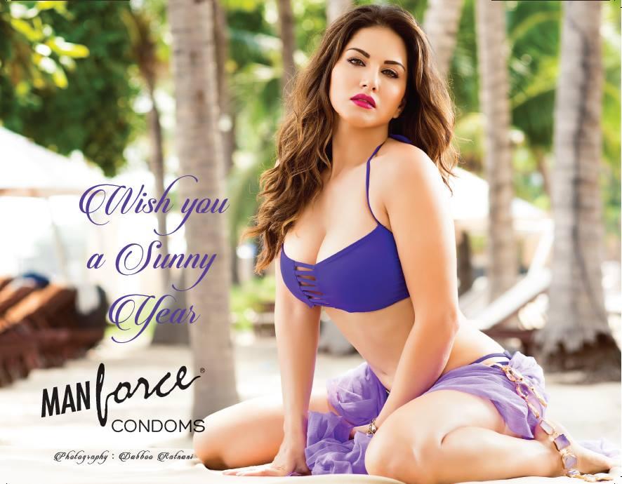Sunny Leone Manforce Calendar Photos