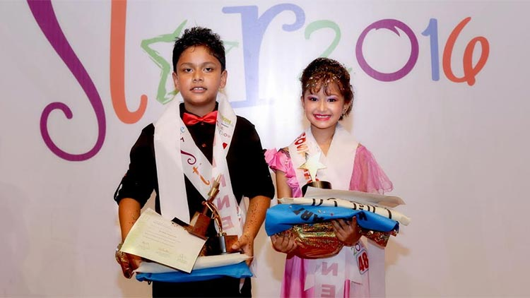 Little Star 2016 - Sarthak Sangraula and Namami-Rajeshowri