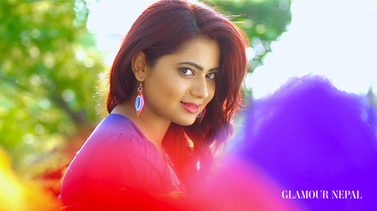 Music Video Screen Shot - Actress Keki Adhikari