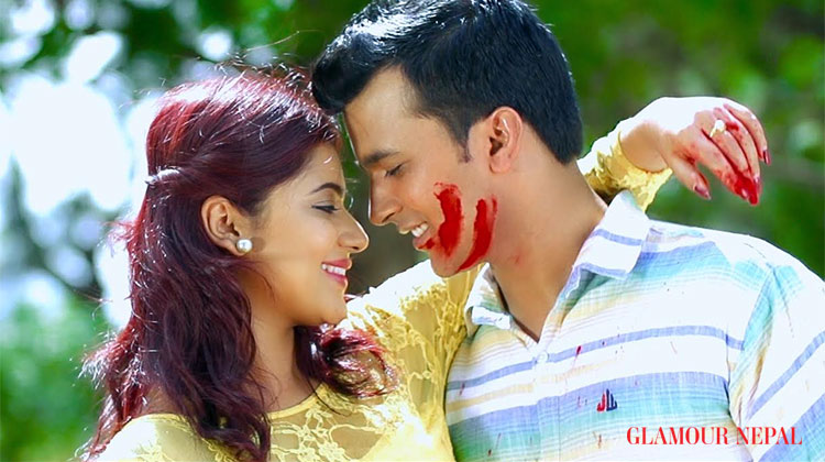 Screen Shot of the music video - Actress Keki Adhikari and Dr. Bikrant Mehta