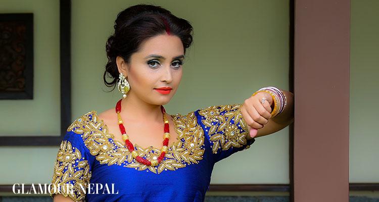 Actress Sanchita Luitel | Photo by Kamal Shrestha