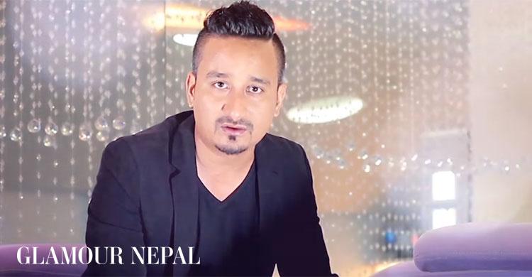 Singer Udesh Shrestha