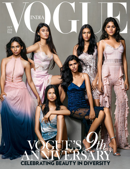 Vogue India Magazine Cover, 2016 October Issue / Source: Vogue.in