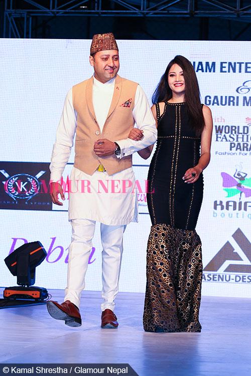 naresh-bhattarai-and-supriya-de-celebrity-runway