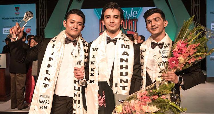 Samim Khan wins Manhunt International Nepal 2016
