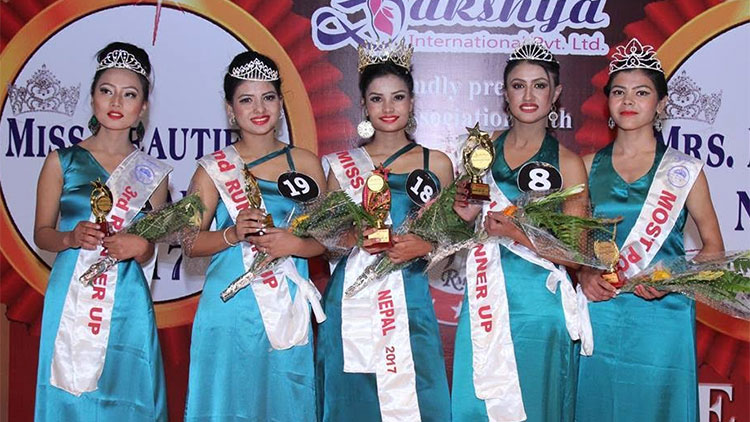 Miss Beautiful Nepal 2017 Winners