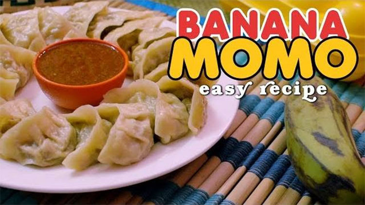 Banana MoMo Recipe Image