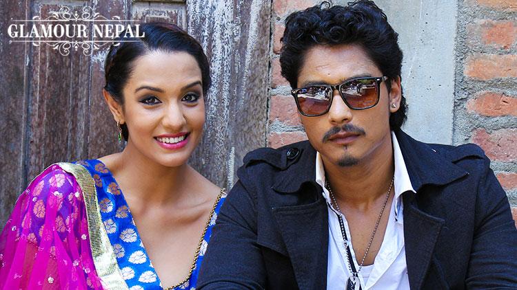 Priyanka Karki and Saugat Malla